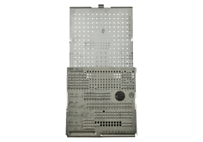 Synthes Large Auxiliary Screw Rack, With Screws
