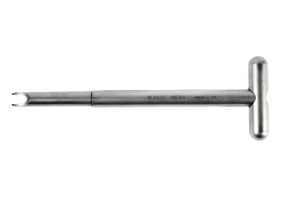 Synthes Screwdriver for Click' X Locking, Self-holding with T-Handle
