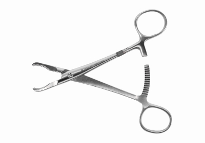 Zimmer Forte Serrated Jaw Forceps