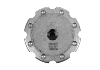 Biomet RingLoc Full Hemi Threaded Impactor Plate