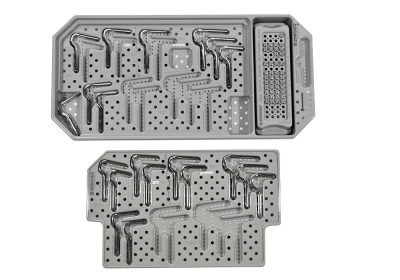 Synthes 4.5 mm Implant Auxiliary Tray for CAPOS Implant Set