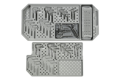 Synthes 3.5 mm Implant Auxiliary Tray for CAPOS Implant Set